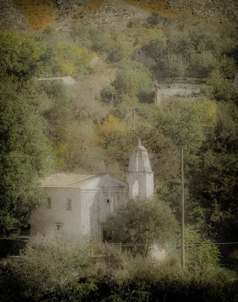 Photograph - Old Perithia, Corfu, Greece - Saint Spiridon by Mark Forte