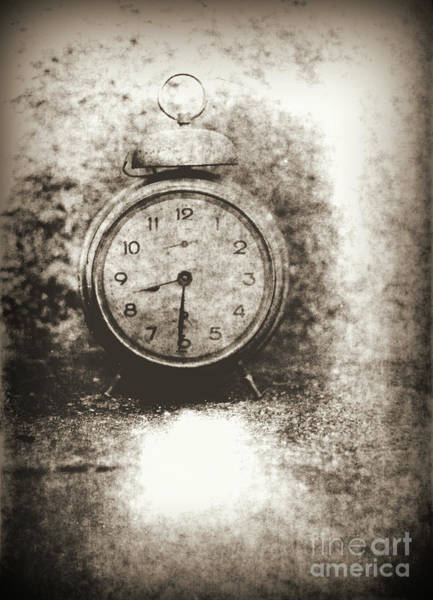 Old Wall Art - Photograph - Old Photo Of The Alarm Clock by Michal Boubin