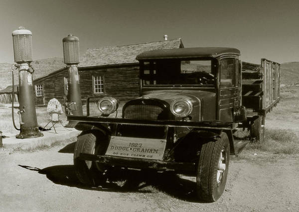 Photograph - Old Pickup Truck 1927 - Vintage Photo Art Print by Peter Potter