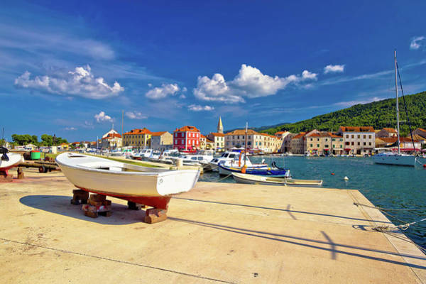 Starigrad Photograph - Old Pictoresque Town Of Starigrad Hvar by Brch Photography