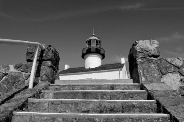 Cabrillo Photograph - Old Point Loma Lighthouse - From The Stairwell  by Glenn McCarthy Art and Photography