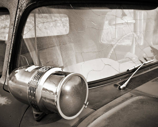 Photograph - Old Police Car Siren by Marilyn Hunt
