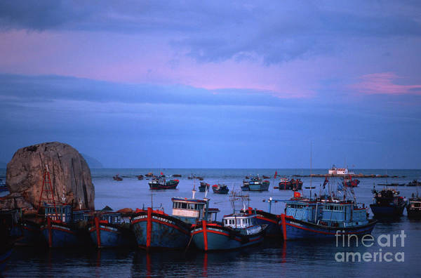 Photograph - Old Port Of Nha Trang In Vietnam by Silva Wischeropp