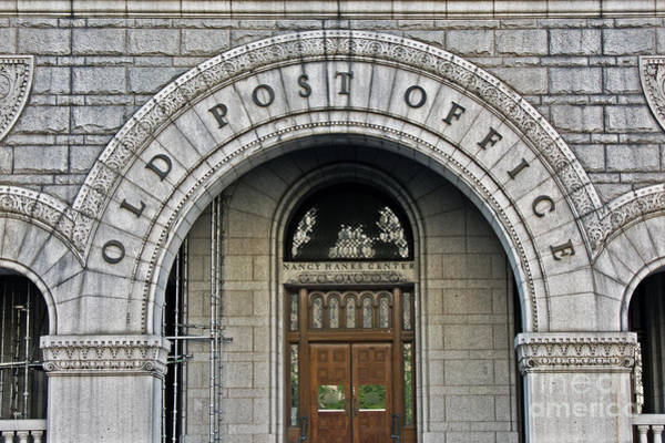 Federal Triangle Wall Art - Photograph - Old Post Office by Tom Gari Gallery-Three-Photography