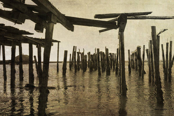 Photograph - Old Provincetown Wharf by Dave Gordon