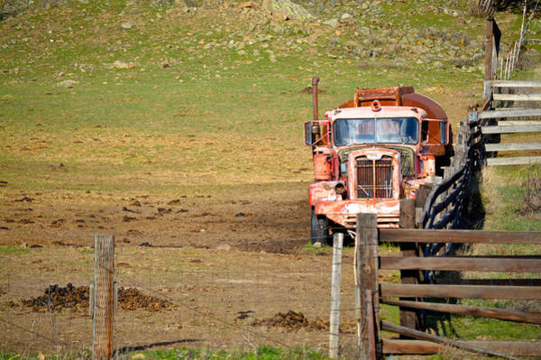 Photograph - Old Pump Truck by Chris Alberding