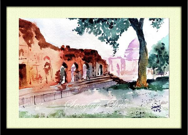 Old Quila Delhi Art Print