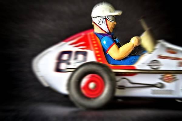 Photograph - Old Race Car by Rudy Umans