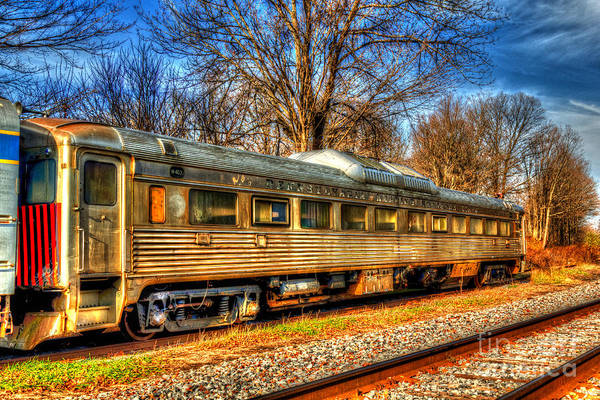 Photograph - Old Rail Car by Rod Best