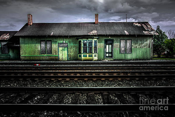 Photograph - Old Rail Station by Michael Arend