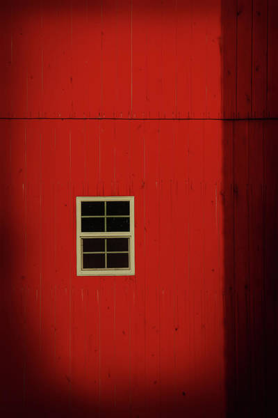 Wall Art - Digital Art - Old Red Barn Minimalism by Dan Sproul