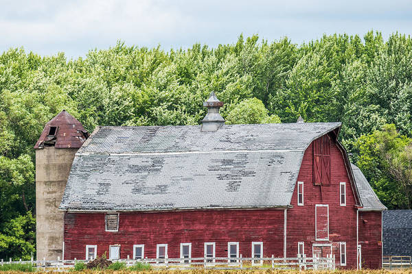 Wall Art - Photograph - Old Red Barn by Paul Freidlund
