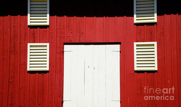Wall Art - Photograph - Old Red Barn by Paul W Faust - Impressions of Light