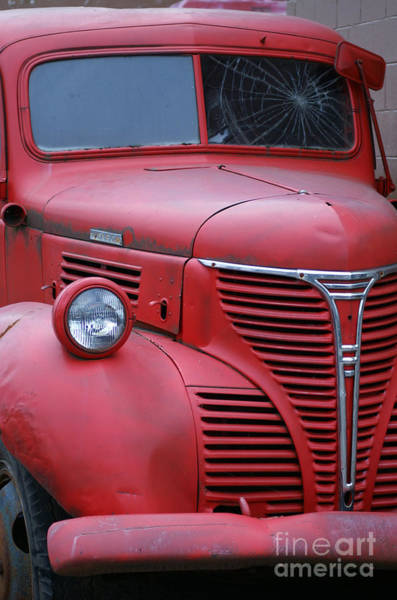 Wall Art - Photograph - Old Red Fargo by Randy Harris