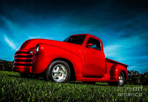 Photograph - Old Red Rocket by Michael Arend