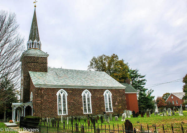 Wall Art - Photograph - Old Reformed Church Paramus New Jersey by William Rogers
