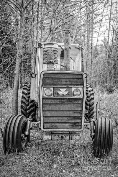 Old Farm Equipment Photograph - Old Reliable Tractor by Edward Fielding