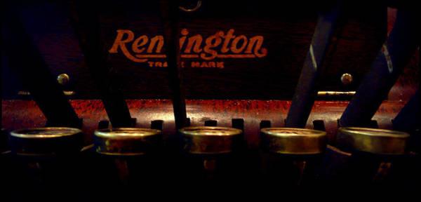 Remington Photograph - Old Remington Cash Register by Lori Seaman