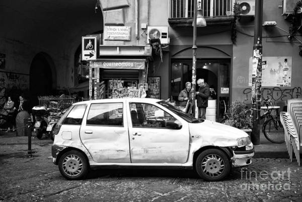 Wall Art - Photograph - Old Ride In Naples by John Rizzuto