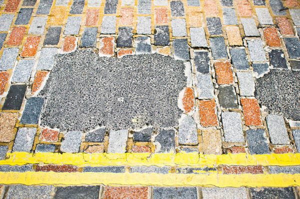 Yellow Brick Road Wall Art - Photograph - Old Road by Tom Gowanlock