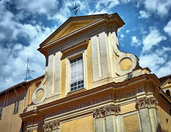 Photograph - Old Roman Building by Fine Art Photography Prints By Eduardo Accorinti