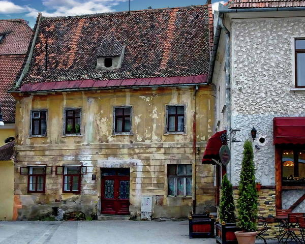 Photograph - Old Romanian House by Anthony Dezenzio