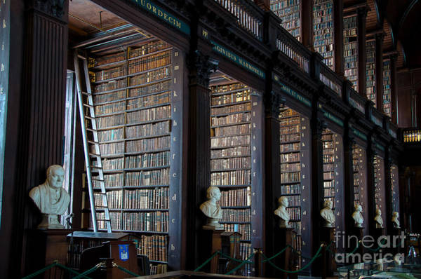 Photograph - Old Room In The Trinity College Library In Dublin by RicardMN Photography