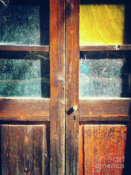 Photograph - Old Rotten Door by Silvia Ganora
