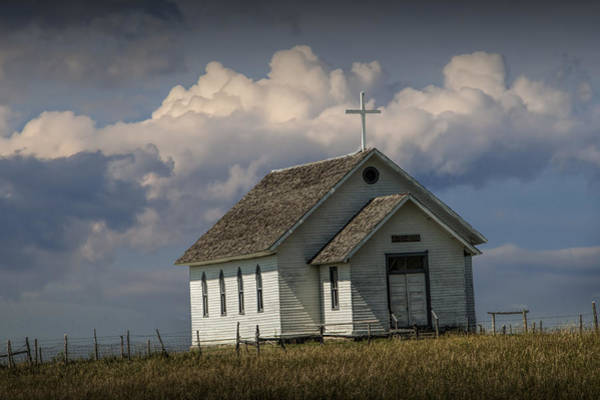 Photograph - Old Rural Country Church by Randall Nyhof