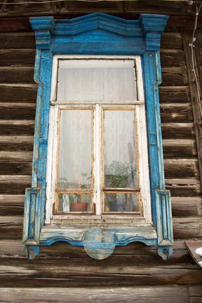 Photograph - Old Russian Window Frame by John Williams