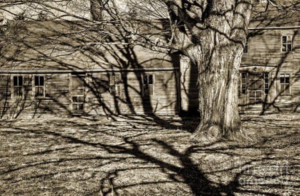 Photograph - Old Rustic Farm House by Alana Ranney