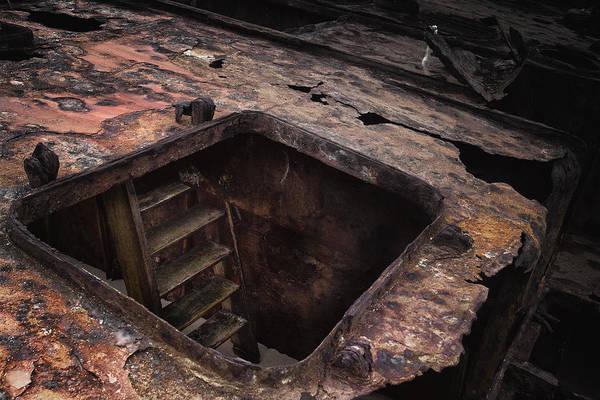 Photograph - Old Rusty Ship by Edgar Laureano