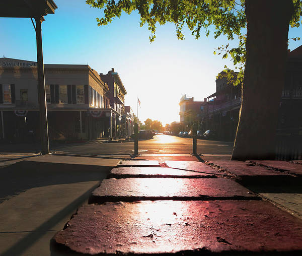 Photograph - Old Sacramento Smiles- by JD Mims