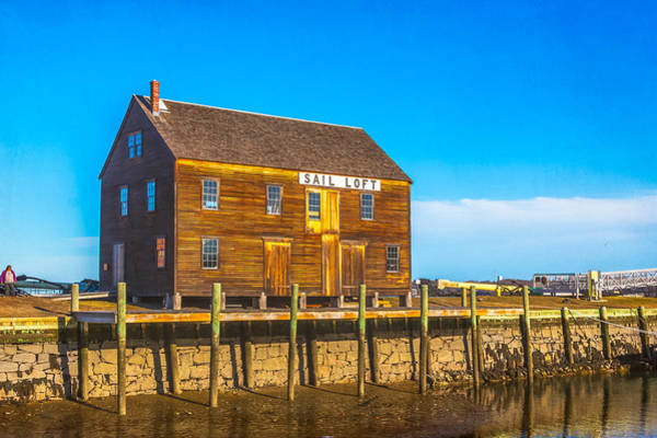 Photograph - Old Sail Loft, Salem Maritime National Historic Site, Salem, Massachusetts by Brian MacLean