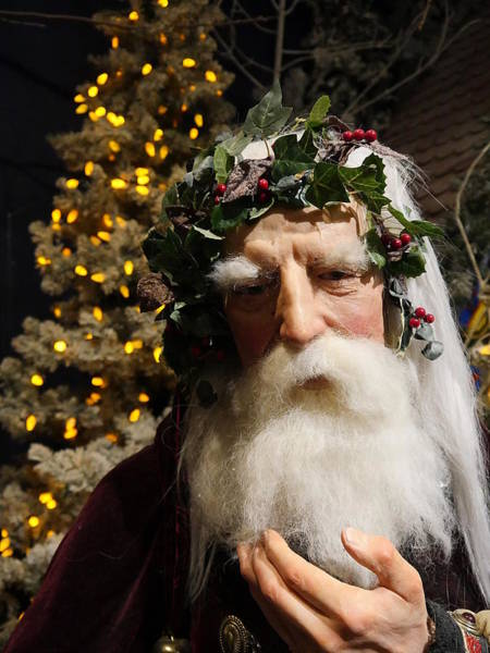 Photograph - Old Saint Nick by Richard Reeve