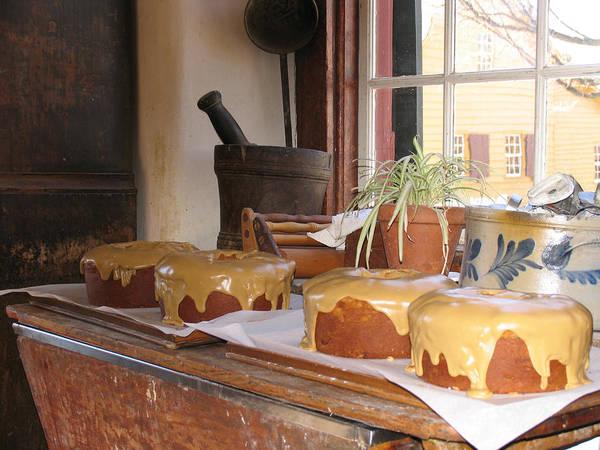 Carole King Photograph - Old Salem Cakes by Carole King