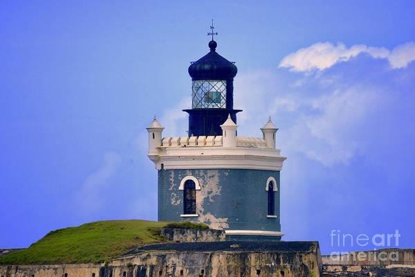 Photograph - Old San Juan Light by Buddy Morrison