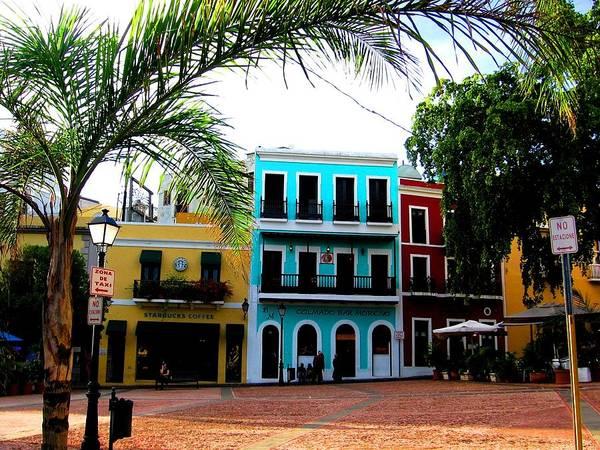 Photograph - Old San Juan Pr by Michelle Dallocchio