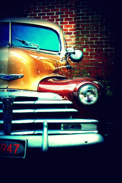 Oliver Photograph - Old Savannah Police Car by Dana Blalock