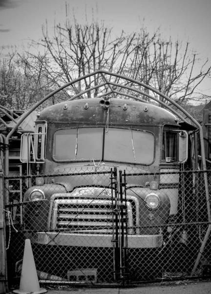 Wall Art - Photograph - Old School Bus by Philip McAlary