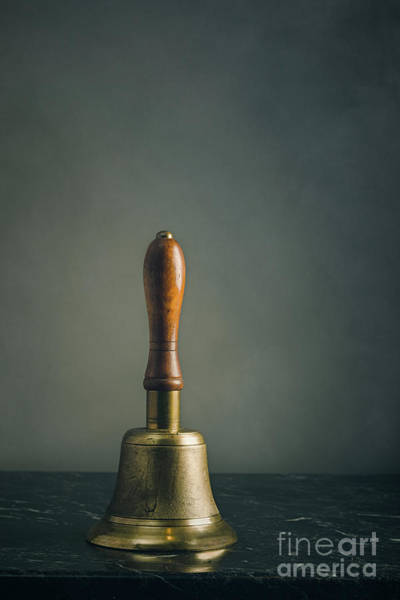 Bell Photograph - Old School Hand Bell by Amanda Elwell