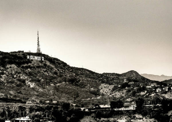 Mulholland Photograph - Old School Hollywood by Natasha Bishop
