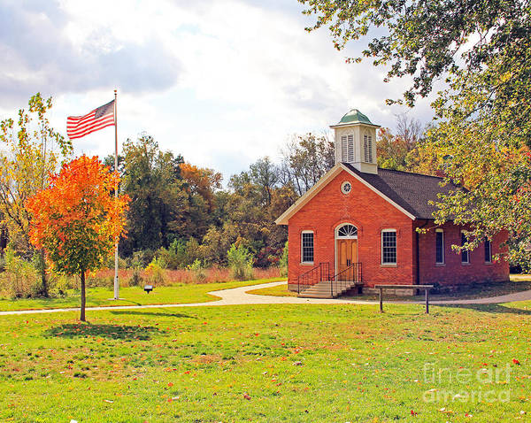 Old Schoolhouse-wildwood Park Art Print