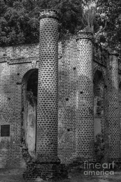 Photograph - Old Sheldon Chruch Ruins Passage Of Time by Dale Powell