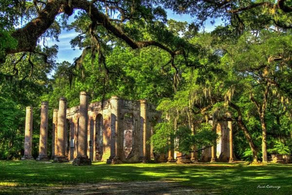 Photograph - Old Sheldon Church Ruins South Carolina Art by Reid Callaway