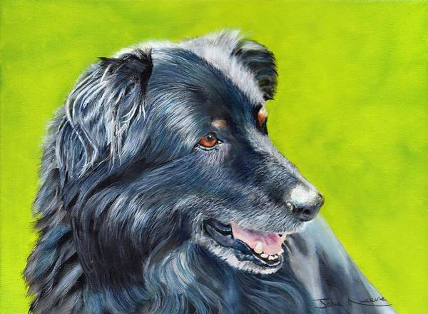 Painting - Old Shep by John Neeve
