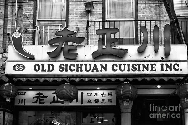 Photograph - Old Sichuan Cuisine by John Rizzuto