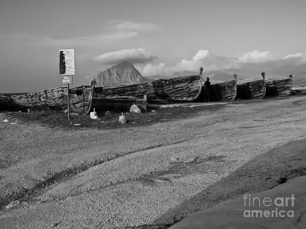 Photograph - Old Sicilian Port by Silva Wischeropp