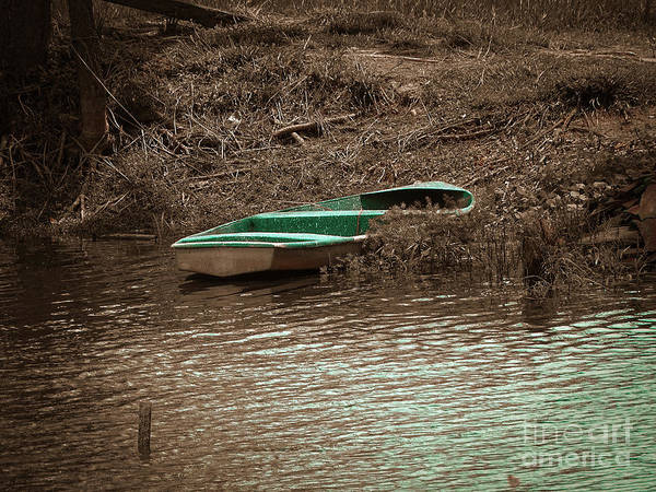 Photograph - Old Skiff by Camille Pascoe