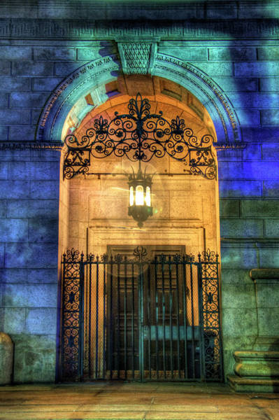 Photograph - Old South Church At Night - Boston by Joann Vitali